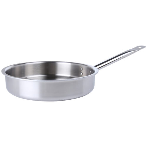 Avon Stainless Steel Saute Pan Tri Ply Induction Compatible
