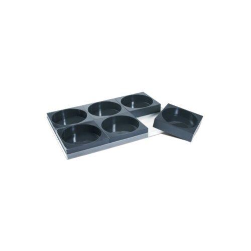 Pavoni Pavocake set of 6 with tray PK002
