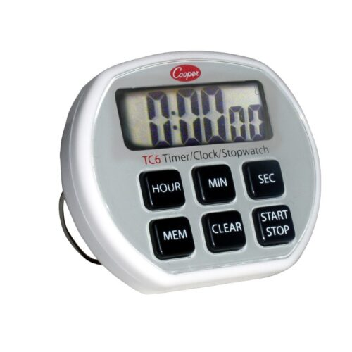 Cooper 6 Button Electronic Timer TC6
