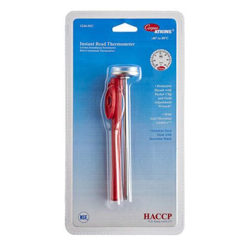 Cooper Bi-Metal Pocket Test Thermometer -40/80°C 1246-01C