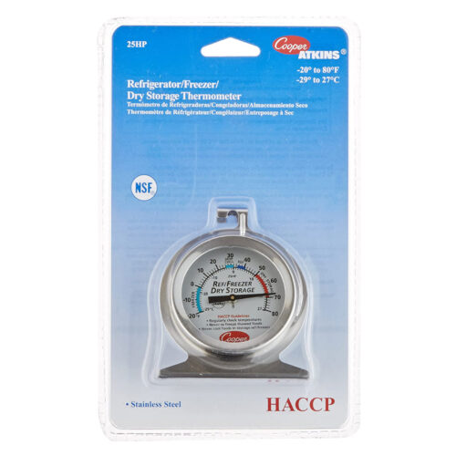 Cooper HACCP Dial Freezer Thermometer 25HP